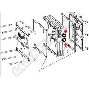 Procopi 32270164 - Connecteurs femelles pour moto-réducteur Aquamat 3001