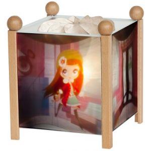 Trousselier Lanterne magique Animaux et petite fille Littlest Pet Shop