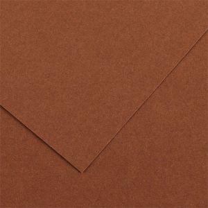 Canson 200040387 - Feuille Iris Vivaldi 50x65 240g/m², coloris chocolat 34