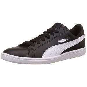 Puma Smash Leather, Tennis Adulte Mixte, Noir (Black/Blue 14), 45 EU