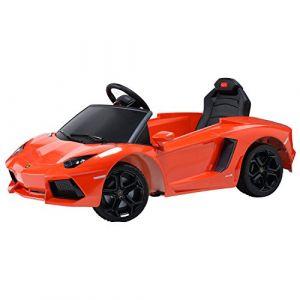 Happy Garden Voiture Électrique Lamborghini Orange