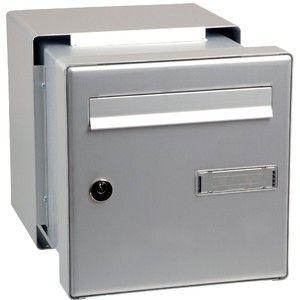Decayeux Boîte aux lettres en aluminium double face - Passe-mur -