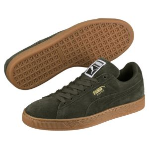 Puma Suede Classic chaussures forest nicht/team gold 41 EU