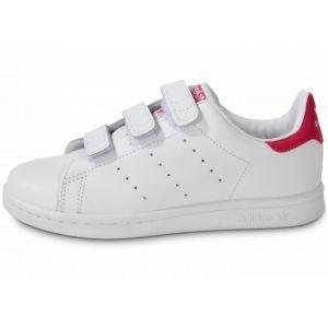 Image de Adidas Basket mode sneaker stan smith c blanc rose 28