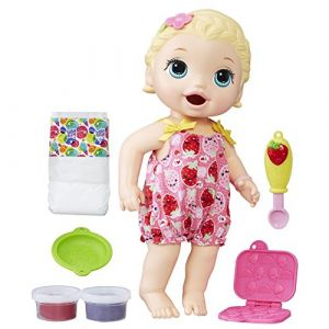 Hasbro Baby Alive Poupée Lily a faim