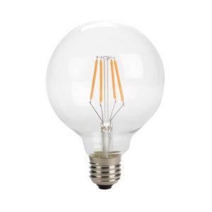 Perel Ampoule A Filament Led - Style Rétro - G95 - 4 W - E27 - Blanc Chaud Intense -