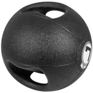 Gorilla Sports 10000529-7 - Médecine ball double poignée 7 kg