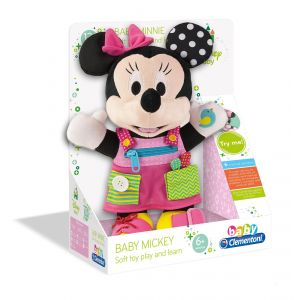 Clementoni Peluche Baby Minnie Habille-moi !