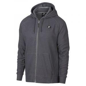 Nike Sweat à capuche entièrement zippé Sportswear Optic pour Homme - Gris - Taille M