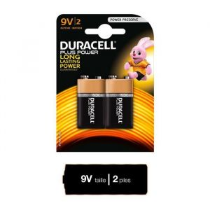 Duracell Plus Power 9V x2