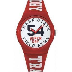 Superdry Montre Urban Track Field Homme Blanc Syg182WR