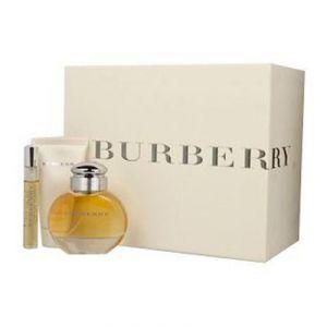 Burberry Pour Femme - Coffret eau de parfum, lait pour le corps et miniature