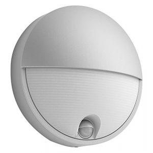 Philips Capricorn Gris - Applique LED extérieure IR détecteur IP44 H21 cm