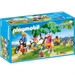 Playmobil 6890 - Promenade en vélo tout terrain avec la fourgonnette