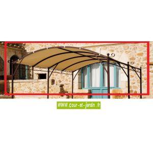Le King Store Toile 400gr/m² pour tonnelle et pergola autoportante