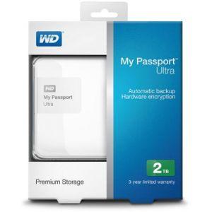 Western Digital WDBBKD0020B - Disque dur externe My Passport Ultra 2 To USB 3.0 AES 256 bits