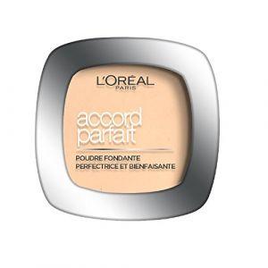 Image de L'Oréal Accord Parfait - Poudre fondante et matifiante 2.R Vanille Rosé