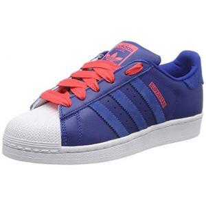 Adidas Originals SUPERSTAR J - Baskets Enfant, Bleu