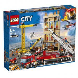 Lego City 60216 - Les pompiers du centre-ville