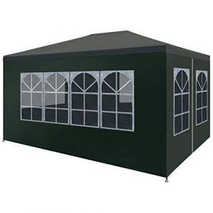 VidaXL Tente de réception 3 x 4 m Vert