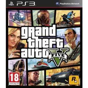 Grand Theft Auto V (GTA V) [PS3]