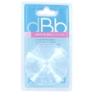 dBb Remond 180200 - 4 bouts de sein en silicone