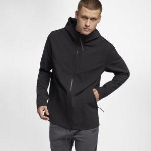 Nike Sweat à capuche en maille entièrement zippé Sportswear Tech Pack pour Homme - Noir - Taille L