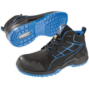 Puma Safety Chaussures Krypton bleu - Taille 40,41,42,43,44,45,46,47,48