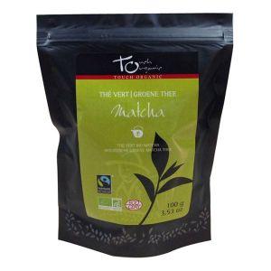 Touch organic Thé vert Matcha bio en vrac 50g