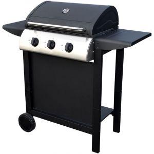 Happy Garden Barbecue au gaz HAWAÏ - 3 brûleurs 8,4kW
