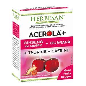 Herbesan Acérola Boost - 30 comprimés