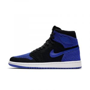 Nike Chaussure Air Jordan 1 Retro High Flyknit pour Homme - Noir - Taille 47.5 - Male