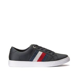 Tommy Hilfiger Baskets Crystal Casual Bleu Marine - Taille 36;37;38;39;40;41