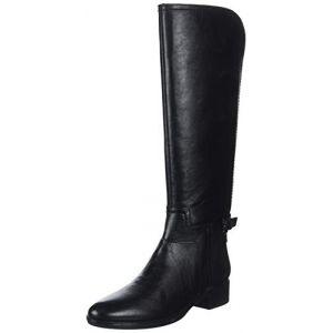 Geox D Felicity B, Bottes Hautes Femme, Noir (Black C9999), 36 EU