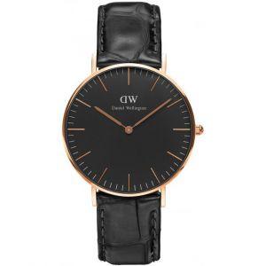 Daniel Wellington DW00100141 - Montre pour homme avec bracelet en cuir