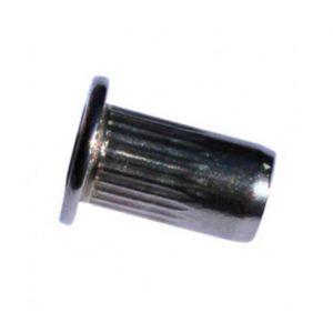 Diamwood Ecrou à sertir tête plate INOX M4 x 25 mm - Boite de 500 pcs - EAP04030A2B