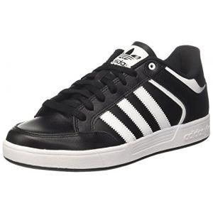 Adidas Originals Varial Low Baskets Homme, Noir (Core Black/Footwear White/Footwear White), 40 EU