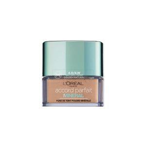 L'Oréal Accord Parfait Minéral 4D/4W Naturel Doré - Fond de teint perfecteur