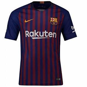 Nike Maillot de football 2018/19 FC Barcelona Stadium Home pour Homme - Bleu - Taille S