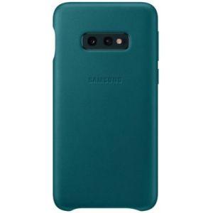 Samsung Coque S10E Cuir vert