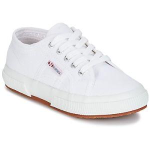 Superga 2750 Jcot Classic, Sneakers basses mixte enfant, Blanc, 33 EU