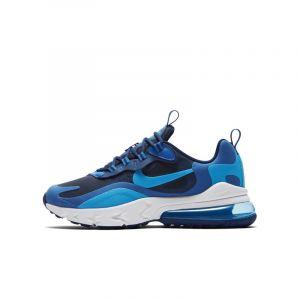 Nike Chaussure Air Max 270 React pour Enfant plus âgé - Bleu - Taille 35.5 - Unisex
