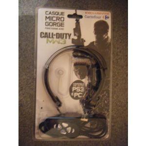 MadCatz Oreillette Bluetooth + base de recharge pour Playstation 3