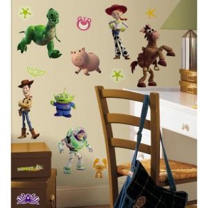ROOMMATES Planche de 33 stickers muraux Toy Story