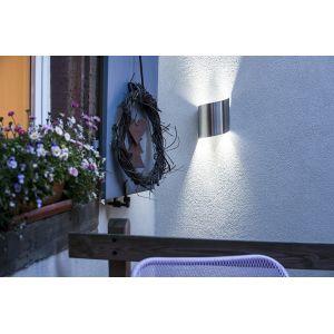 Galix Applique murale solaire G11 moderne et très éclairante - 50 lumens