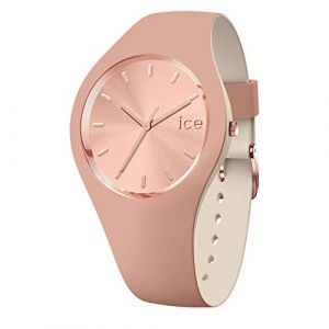Ice Watch Ice-Watch - ICE duo chic Blush - Montre marron pour femme avec bracelet en silicone - 016980 (Small)