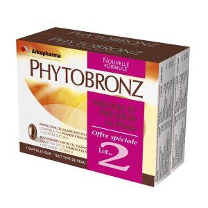 Arkopharma Phytobronz - Préparateur solaire, 2x30 capsules
