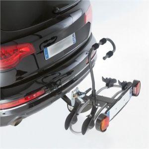 Mottez Porte-vélos d'attelage plate-forme Premium A018P2RA pour 2 vélos