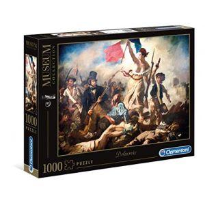 Clementoni Puzzle museum 1000 pièces - delacroix : la liberté guidant le peuple