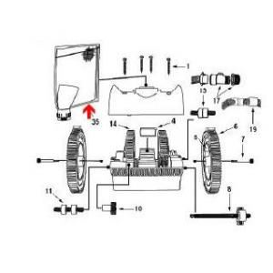 Procopi 1024506 - Sac de robot Victor R300